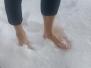 Schneetreten härtet ab und verscheucht die Wintermüdigkeit